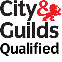 City Guilds Qualified Training Logo