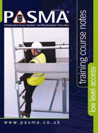 PASMA Low Level Training Brochure