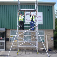 PASMA training courses in Leeds, Bradford and Sheffield