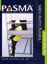 PASMA Low Level Training Courses Brochure
