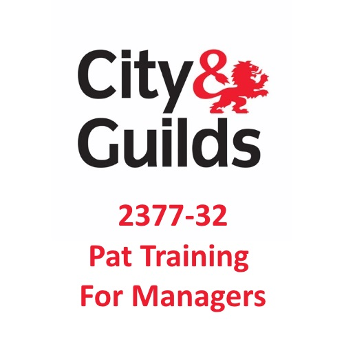 City & Guilds 2377-32 PAT Training For Managers Logo
