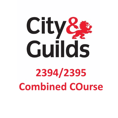 City & Guilds 2394/2395 Combined Course Logo