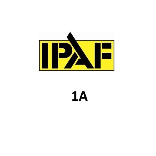 IPAF 1A Logo