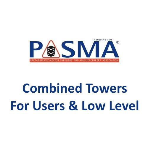 PASMA Combined Towers For Users & Low Level Logo