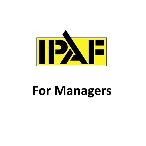 IPAF For Managers Logo