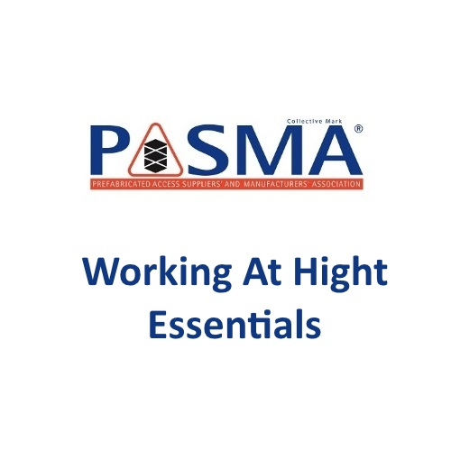 PASMA Working At Height Essentials Logo