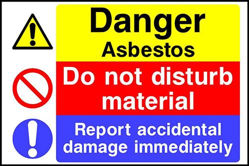 Asbestos Warning Signs 2