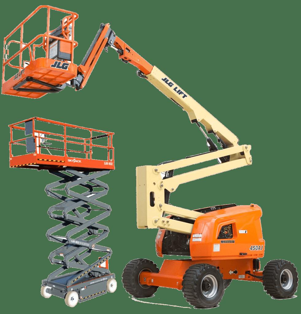 IPAF 3a, 3b & 1b machinery