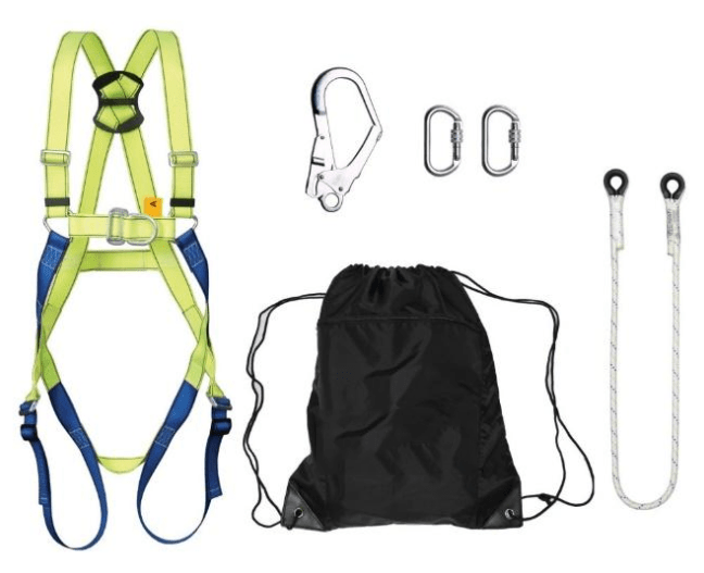 What's Inside The Safety Harness Kit